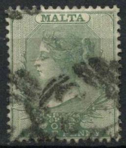 Malta 1885-90 SG#20, 1/2d Green QV Used #D22782