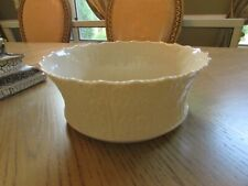 "Lenox China Woodland Centerpiece Bowl 9.25"" Ivory Made In Usa"