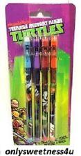 BOYS TEENAGE MUTANT NINJA TURTLES Pop-Up Pencils Birthday Party School Supplies