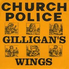 "GILLIGAN'S WINGS - Church Police 7"" EP - Skulltones Records - RARE MINT & OOP"