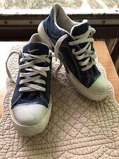 Nike Vintage Denim Jean Sneakers Size 8.5 1998 Shoes