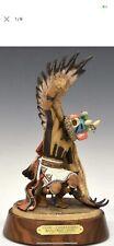 Lowell Talashoma Limited Ed. Hopi Kachina, Kwahu Eagle Kachina Spiritual Flight