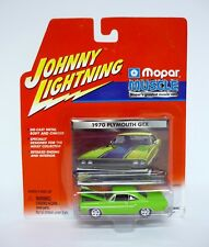 JOHNNY Rayo 1970 Plymouth GTX MOPAR Muscle Die-cast MOC COMPLETO 2001