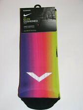 Nike Running Elite Cushioned Crew Socks BETRUE BE TRUE EQUALITY L (10-11.5) NEW