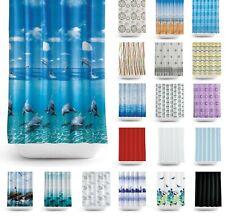 Tropik Home Fabric Bathroom Shower Curtain, Extra Wide And Long, W240 X L200CM