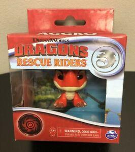 """DRAGONS AGGRO Rescue Riders Spin Master DreamWorks Mini 2"""" Figure NEW"""