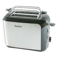 Tefal Toaster TT3565 2 Scheiben Brötchenaufsatz Edelstahl 7 Bräunungsstufen