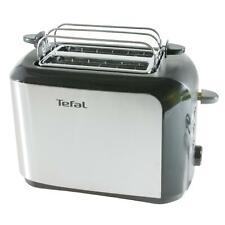 Tefal Toaster TT3565 2 Scheiben Brötchenaufsatz Edelstahl 7 Bräunungsstufen 1A