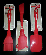2 Spatulas & Basting Brush included - BETTY CROCKER 3 Piece Set -Kitchen Items!
