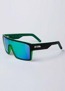 NEW UNIT Sunglasses Command -  Matte Black Green Polarised