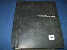 John Deere 8850 Tractor Technical Service Shop Repair Book Manual Tm-1254