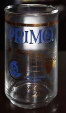 PRIMO BEER HONOLULU HAWAII GLASS CUP HAWAIIAN BOTTLE