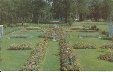 Flower Gardens At Government House, Charlottetown, P.E.I. / Postmarked 1956