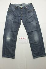 Lee Grand Tab (Code F974) Tg46 W32 L34 abrégé en L30 jeans d'occassion