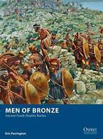 Men of Bronze: Ancient Greek Hoplite Battles (Osprey Wargames) by Farrington, Er
