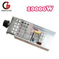 10000W AC110-220V SCR Voltage Regulator Motor Speed Controller Dimmer Thermostat