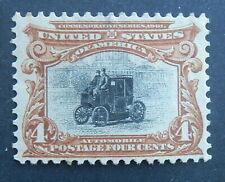 Mlhog 1901 Pan American #296 4c red brown (Good Margins) Very Fresh 4c Mlhog