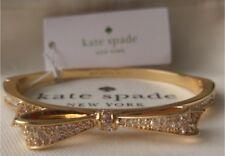 NWT Kate Spade Love Notes Pave Bow Rhinestone Bracelet Bangle $58