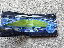 Official Everton Wallet - Stadium Design Black - Ideal Gift