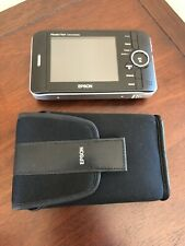Epson P-2000 Multimedia Storage Viewer + Case No Charger
