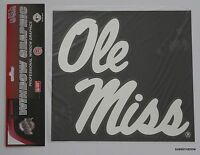 Mississippi Ole Miss Large Chrome Graphic Vinyl Window Decal Licensed NCAA