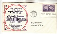 922 Transcontinental Railroad First Day Cover