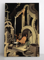 Dr. Suess-Mídnight -The Stag at Eve Théodor-Geisel Rare Gallery Art Poster