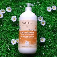 Shampoing brillance orange coco SANTE Family 950ml