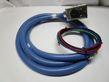 "CS8369 PDU WHIP 50A 250V - 10ft Blue 3/4"" Liquid-Tight Underfloor Cable 4-wire"