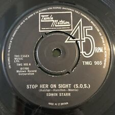 Edwin Starr Stop Her On Sight S.O.S Tamla Motown Northern Soul Vinyl Record