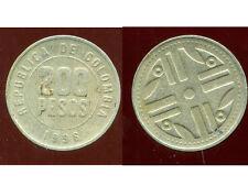 COLOMBIE 200 pesos 1996