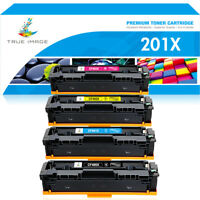 4 Toner Compatible for HP 201X CF400X Color LaserJet Pro M252dw M252n MFP M277dw