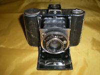 Rare Kodak AG Dr Nagel-Werk Vollenda Compur Folding Camera ASIS UNTESTED