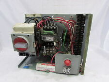 GENERAL ELECTRIC IC7700 LINE 385X0331 M02 C1R MCC BUCKET FVNR 10HP 60CY *XLNT*