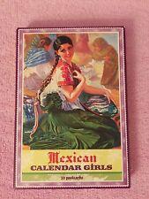 Mexican Calendar Girls: 30 Postcards Pin Up Angela Villabla New & Complete 2006