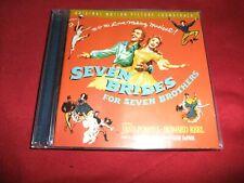 (-0-) Gene DePaul Seven Brides for Seven Brothers Original Soundtrack cd EX Rare