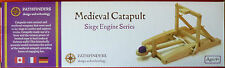 MEDIEVAL CATAPULT Pre Cut WOOD Pieces HISTORICALLY Accurate working MODEL