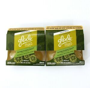 Glade Plugins Scented Oil Spiced Citrus Chic 4 Refills