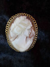 noble, antiguo broche__gema__pin de solapa y colgante__4,2cm