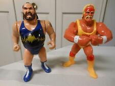 Hulk Hogan Earthquake Vintage 1991 WWF Hasbro Lot Free Shipping!