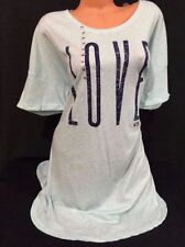 Victoria s Secret Women s Solid 100% Cotton Gowns Sleepwear   Robes ... 7c29f5d90