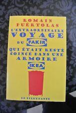 L'extraordinaire voyage fakir coincé dans armoire ikea Romain Puertolas