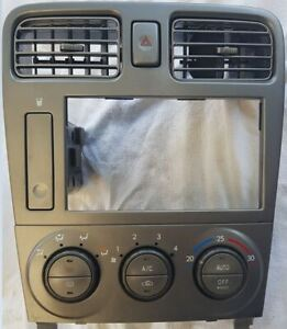 SUBARU FORESTER RADIO SURROUND with HEATER/AC CONTROLS CLIMATE CONTROL TYPE, 07/
