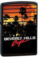 Zippo 9209 beverly hills cop movie black matte Lighter