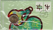 Australia / Christmas Island Stamps PNC 2012 Year Of The Ox