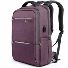 Inateck Laptop Backpack with USB Charging Port School Bag Fit for 15.6'' Laptop