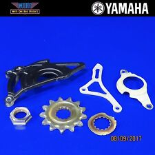 2014 Yamaha YZ450F YZ250F Crank Case Saver Front Sprocket Cover Engine Guard Nut