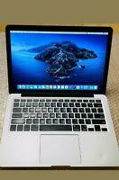 "MacBook Pro 13"" Retina Laptop Early 2015 A1502 Intel i5-2.7Gh 256GB 8GB Catalina"