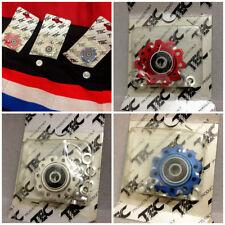 Vintage Blues nos tec products 11t desviador roles pulley set Alloy CNC