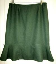 LE SUIT FLARED GREEN SKIRT  Size 18